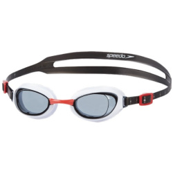Speedo Male Aquapure Goggle Zwembril Heren Red Smoke Maat One Size