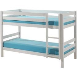 Emob Claire Stapelbed Wit Laag 103x208cm